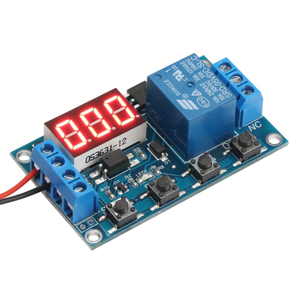 medium resolution of relay module 6 30v multifunction 1 channel relay delay off on off trigger delay cycle timing circuit switch dc 12v