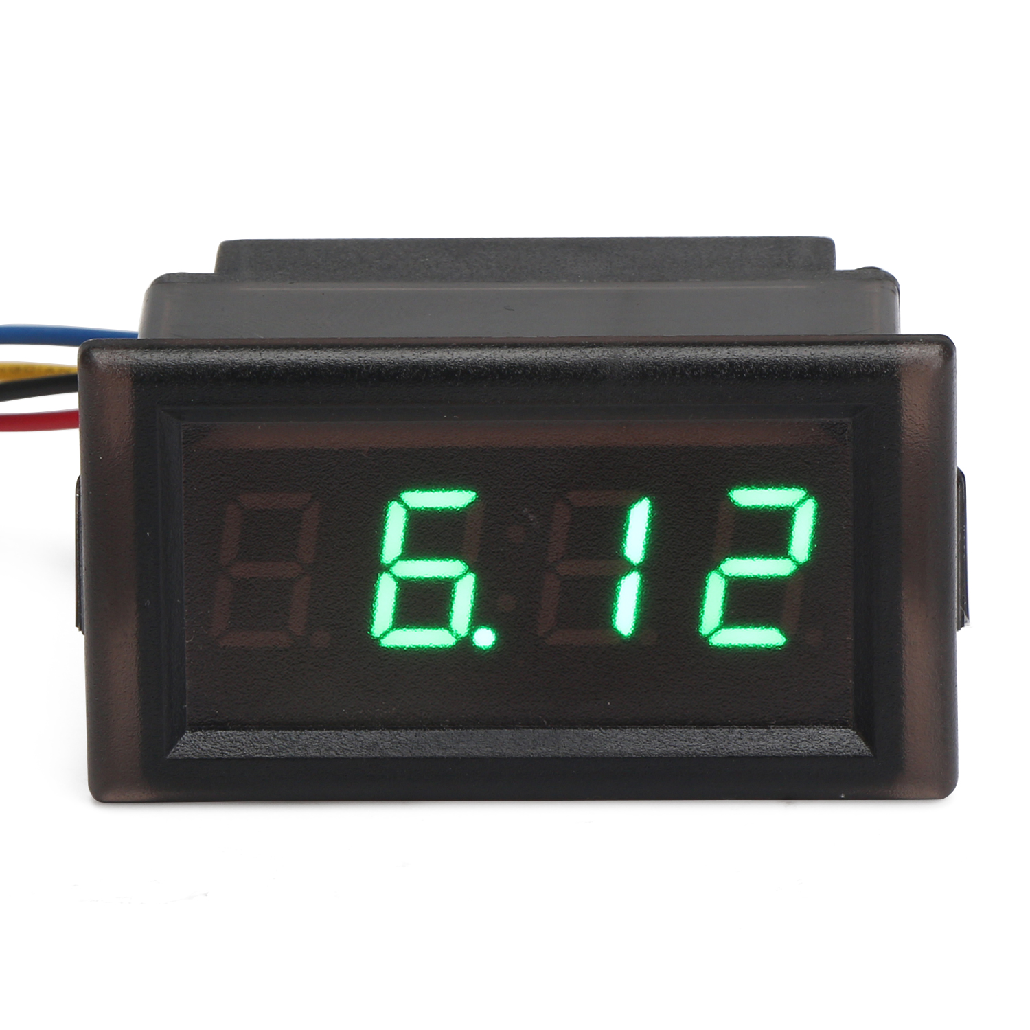 Waterproof Digital Clock Alarm Meter Dc 4 5 30v 24 Hour