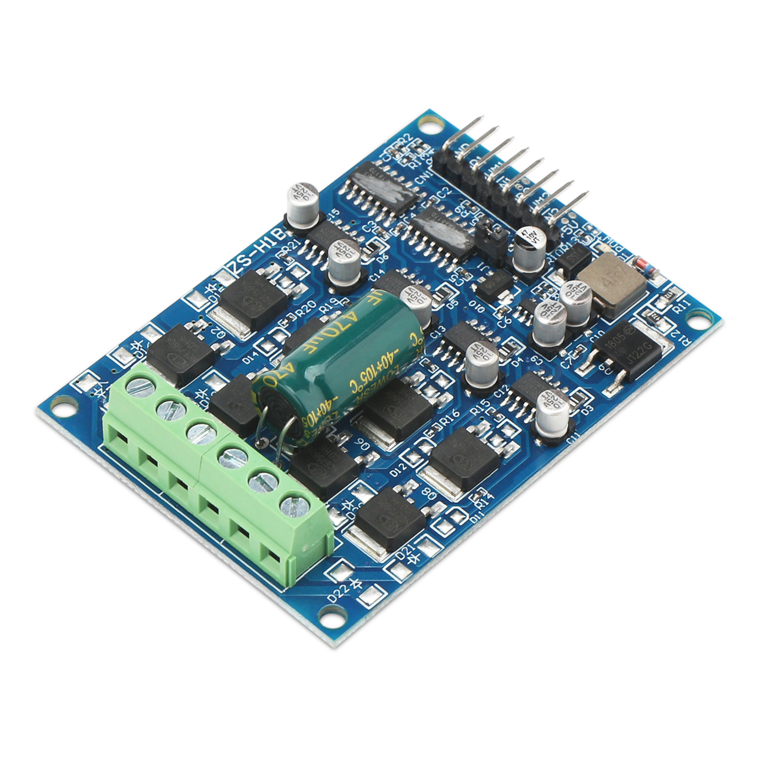 hight resolution of dc brush motor controller 16a power supply module dual way motor drive module forward reverse pwm