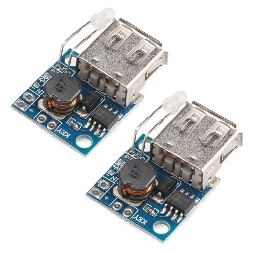 small resolution of usb mobile power supply board 2pcs mini dc dc step up converter 3v to 5v 2a