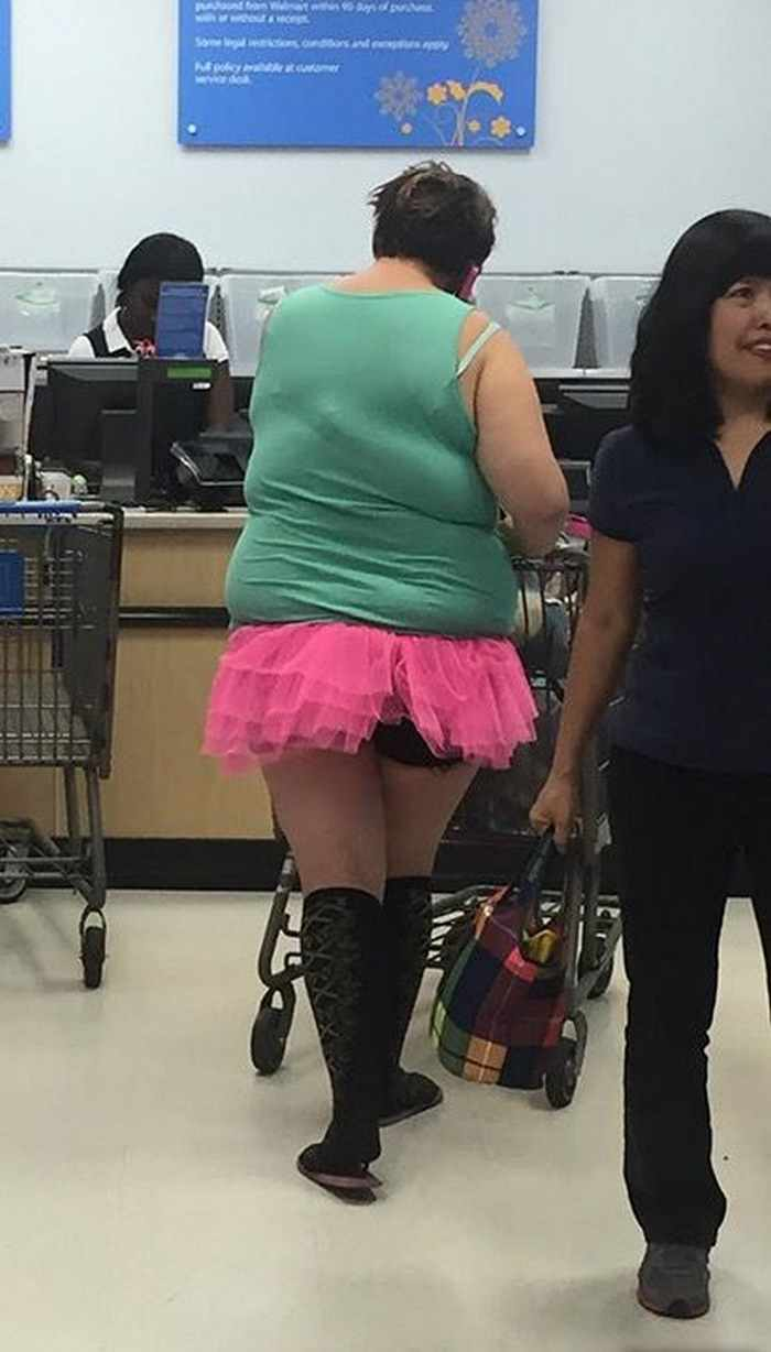 The 20 Most Ridiculous People of Walmart Photos -11