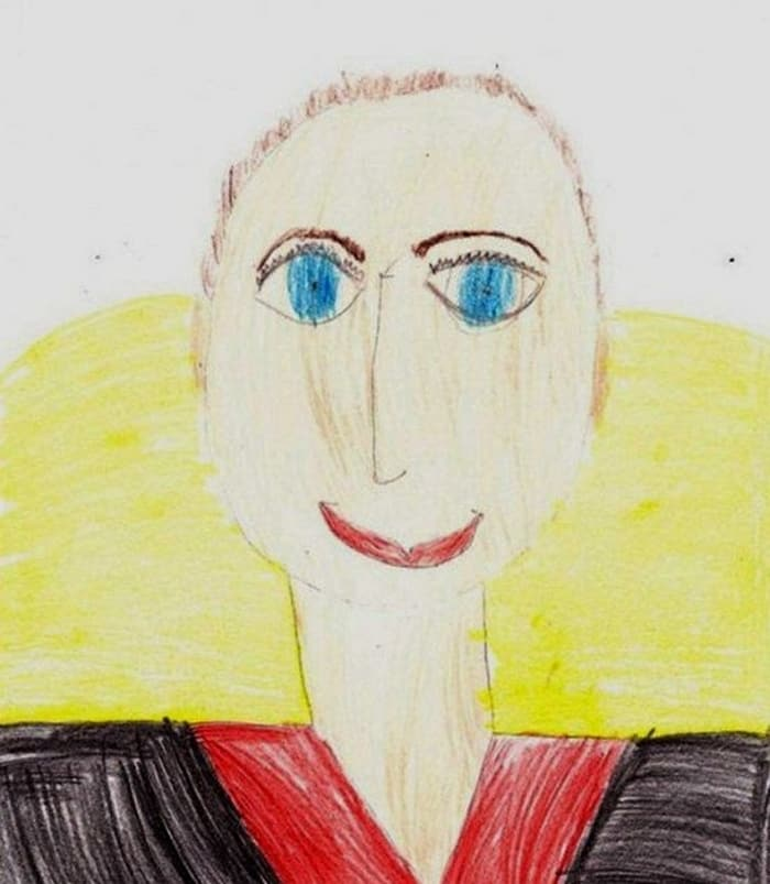 27 Funny Drawings of Putin By Russian Kids Will Make You LOL -03