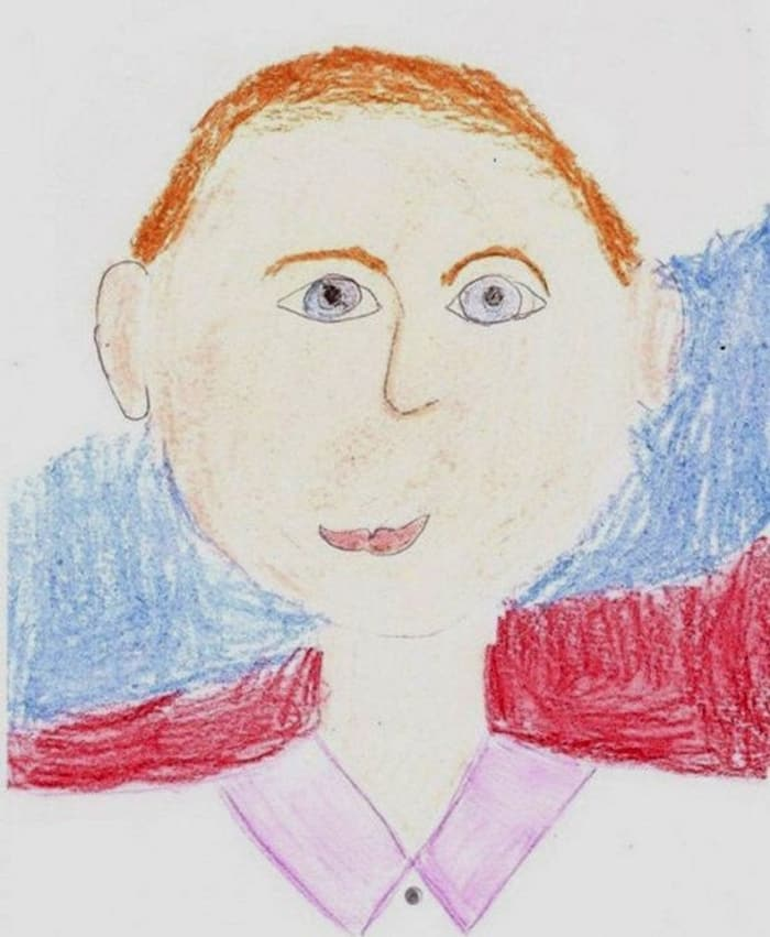 27 Funny Drawings of Putin By Russian Kids Will Make You LOL -09