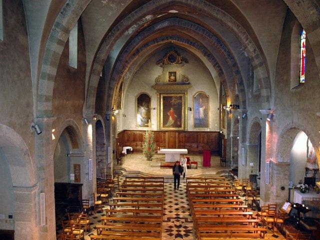 L'église Saint-Vincent de Nyons à Nyons - Patrimoine Culturel - Drôme  Provençale