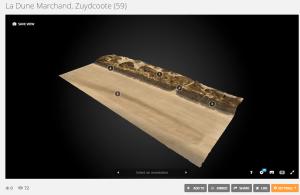 modele 3D dune marchand