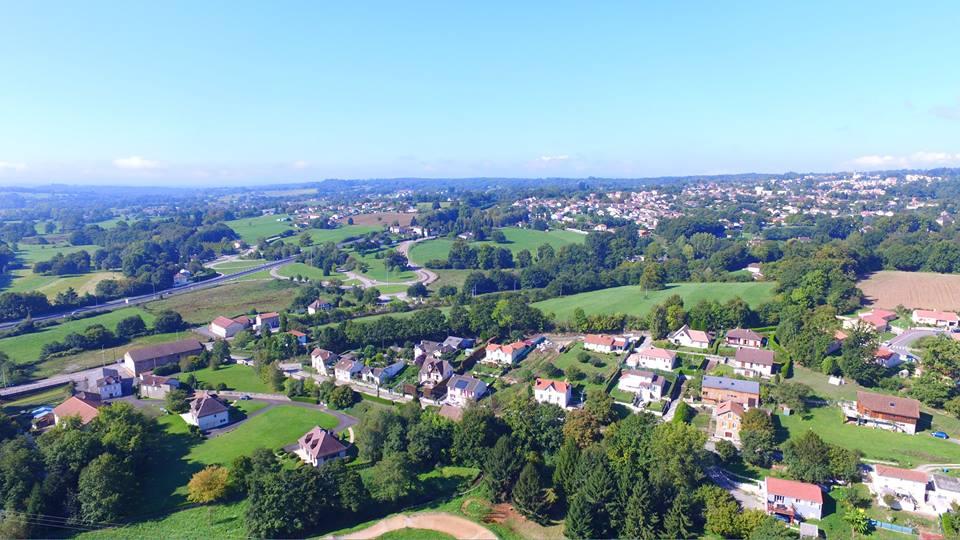 Photo aérienne de Limoge photographiée par un drone