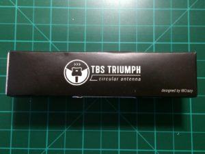 TBS Triumph - La scatola