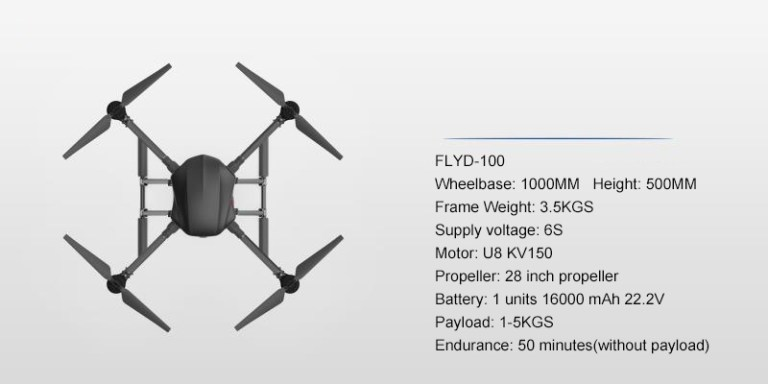 Industrial Drone frame