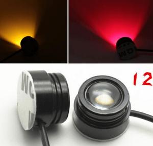 Red LED Lamp headlight Illuminator 12V 1.5W Night Navigation