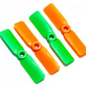 5045*2 Eliche 2 Pezzi CW + 2 Pezzi CCW Green and Orange