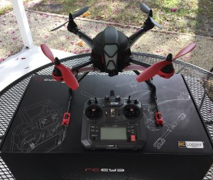 RC Logger NovaX 350 Quadcopter – first look