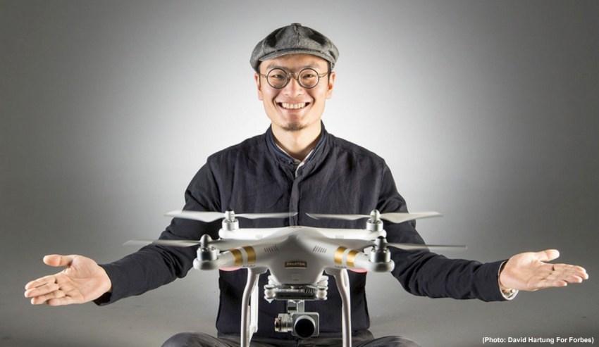 Frank Wang DJI Founder