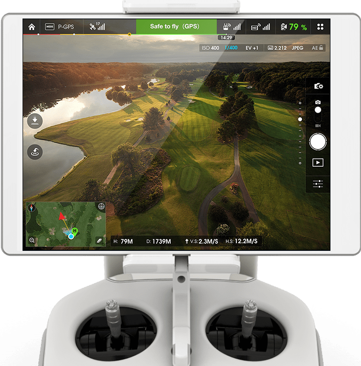 DJI GO Screen