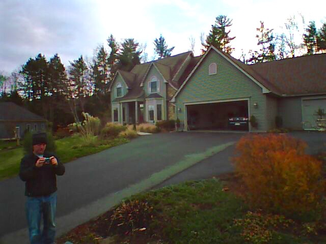 First Flight of my AR Drone - 2012