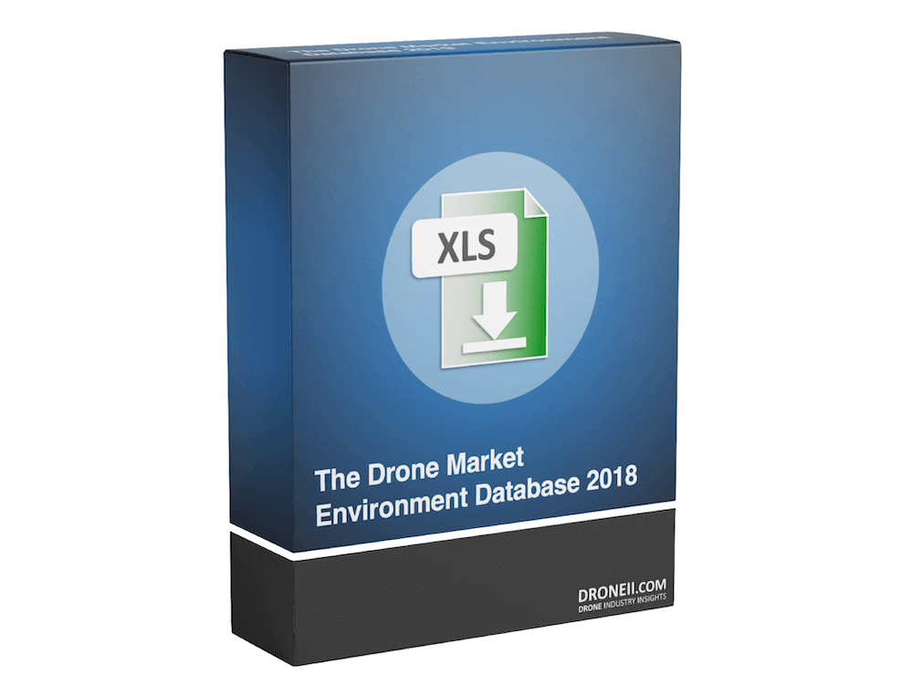 Drone Market Environment Map Database 2018