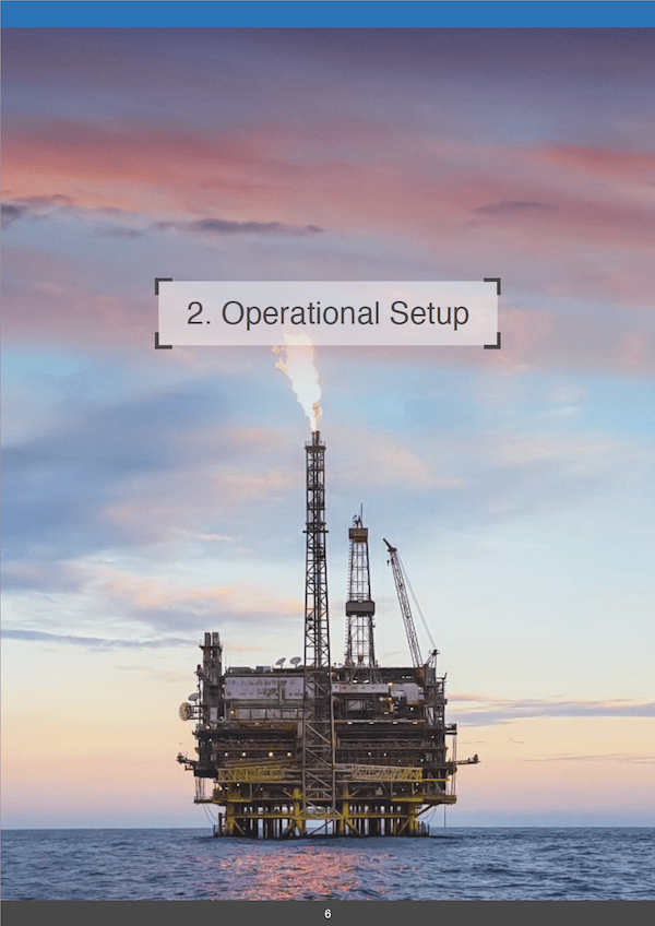 Drones in the Energy Industry - Operational Setup