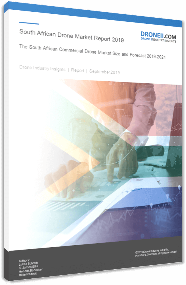 SA Drone Market Report Title Page Portrait 3D Shadow