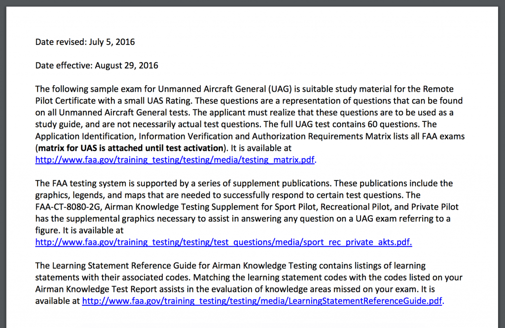 faa releases 40 practice questions for aeronautical knowledge test ...