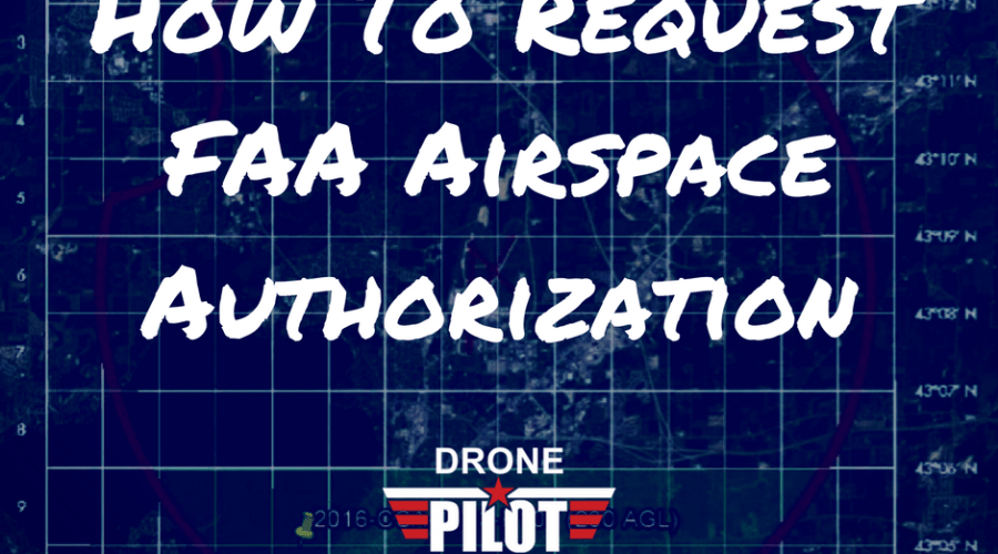 how to request faa airspace authorization