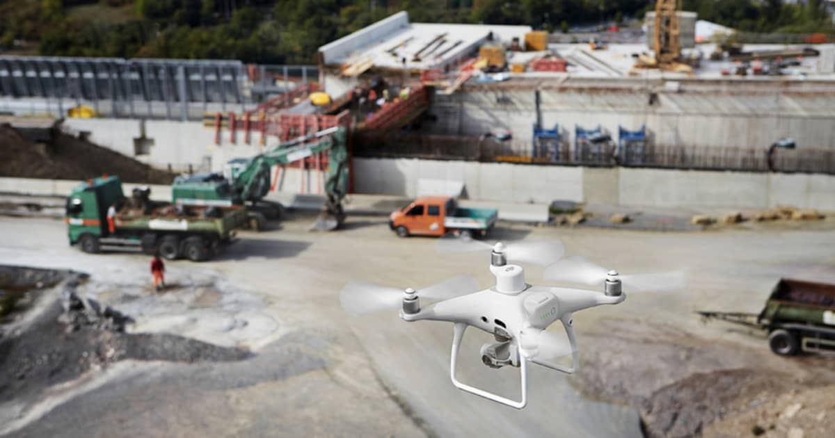 New Phantom 4 RTK Drone for Mapping/Surveying Launches Globally