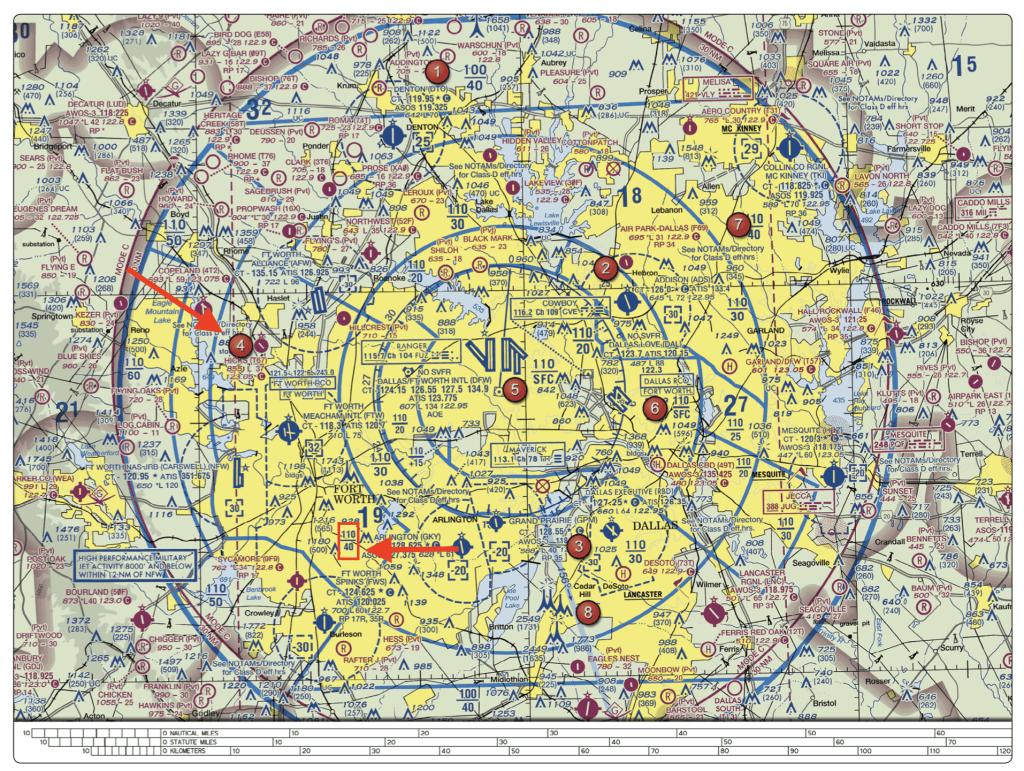 Floor of Class B Airspace