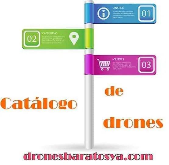 catalogo de drones