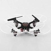 Syma-X11C-Mini-Drone-Cuadricptero-RC-Air-RTF-20-Mp-Cmara-4-Canales-24GHz-Luz-LED-Negro-0-2