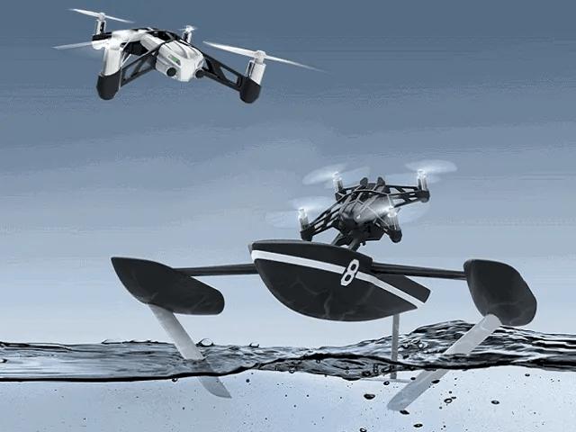 parrot hydrofoil dron