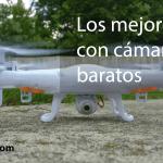 Los mejores drones con cámara HD baratos