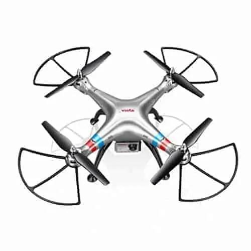 Malloom-Syma-X8G-24G-4CH-con-8MP-HD-cmara-Modo-sin-cabeza-RC-Quadcopter-FPV-Drone-0