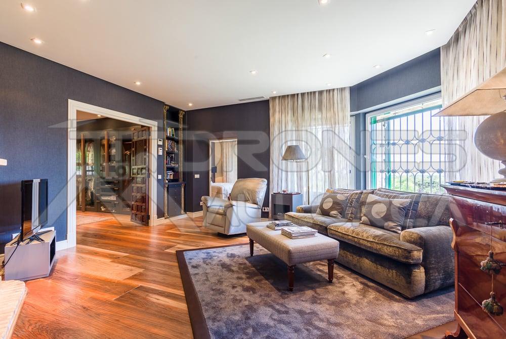 foto salón mansión