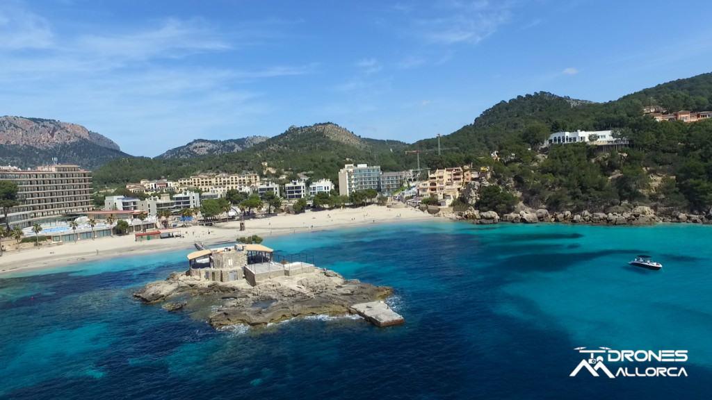 imágen del vídeo show reel de drones Mallorca
