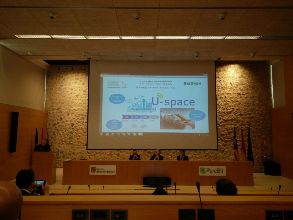 U-Space on screen