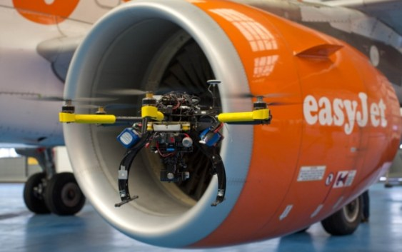 EasyJet to deploy drones to aid aircraft safety checks