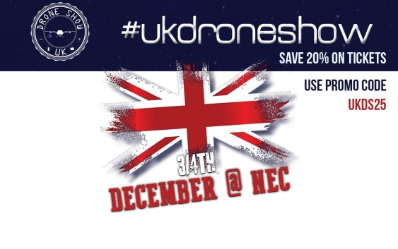 UK Drone Show 2016 What's On, Who's Going, and why you should be there!