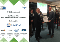 Unifly Awarded Best Emerging Drone Company At EU Drone Awards