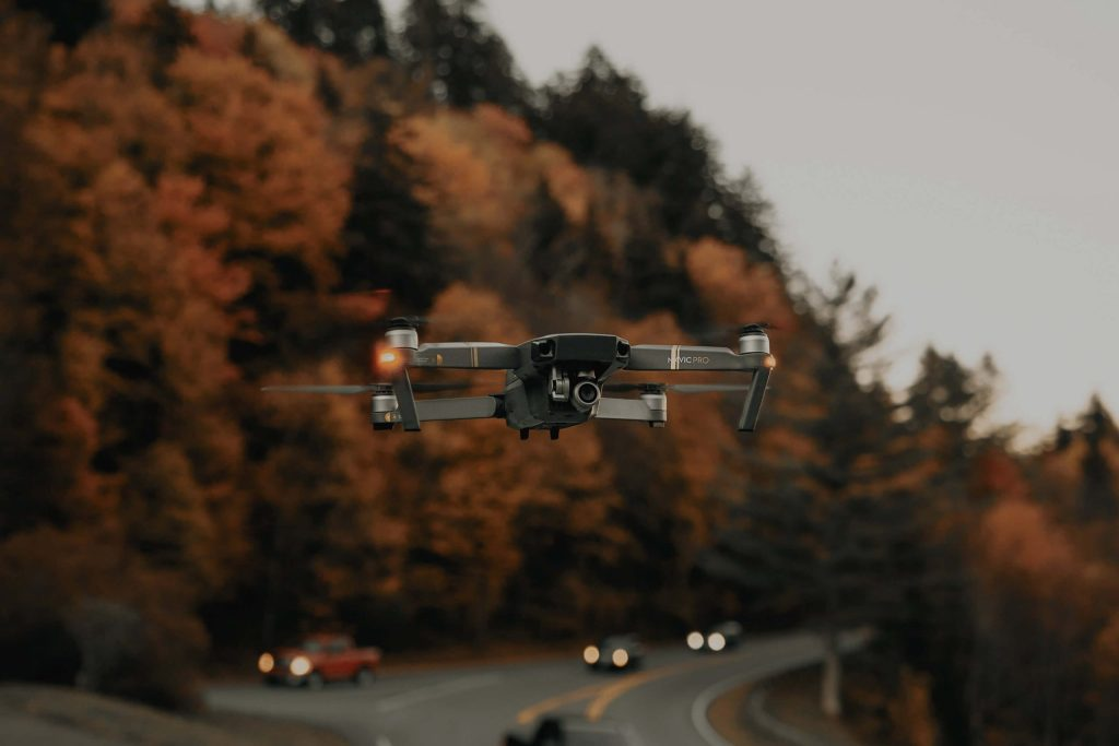 Use of Drones By Transportation Companies for A Supply Chain