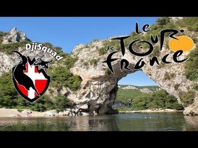 Tour de France 2016 – Vallon Pont d'Arc   Dronestagram