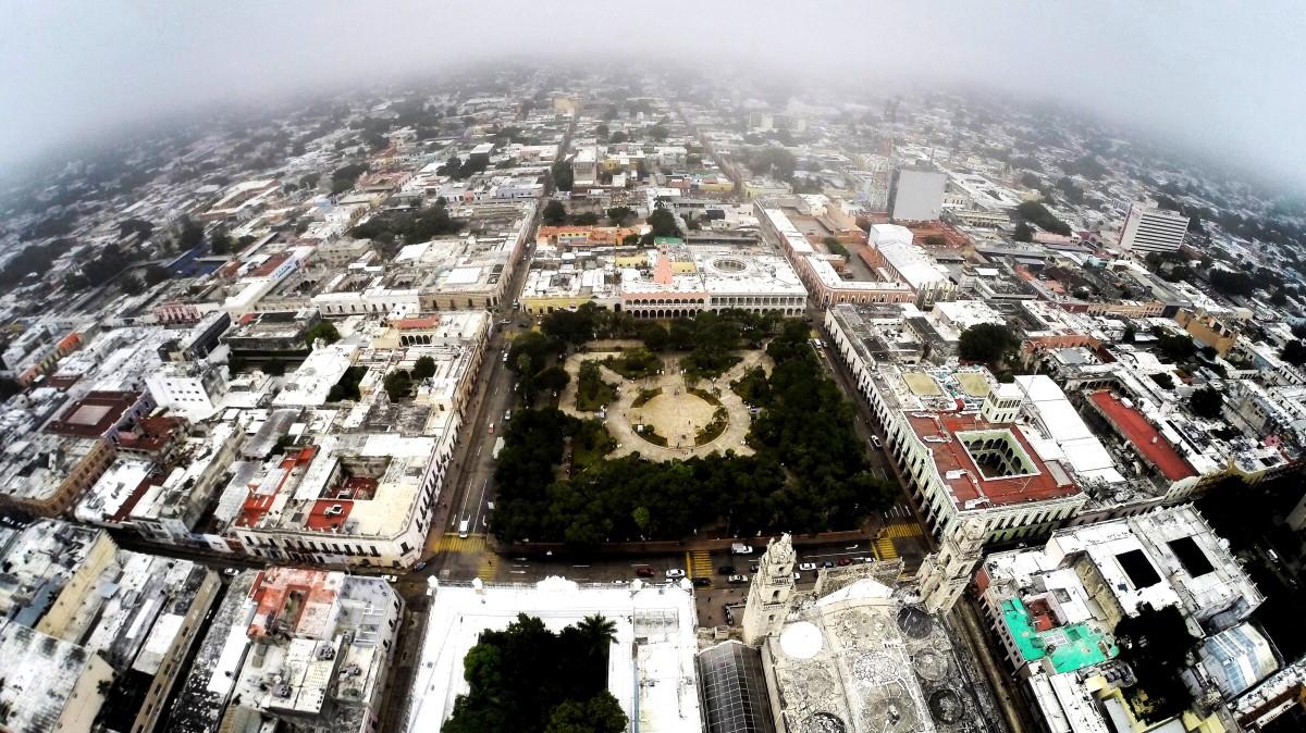 Resultado de imagen de merida yucatan vista aerea