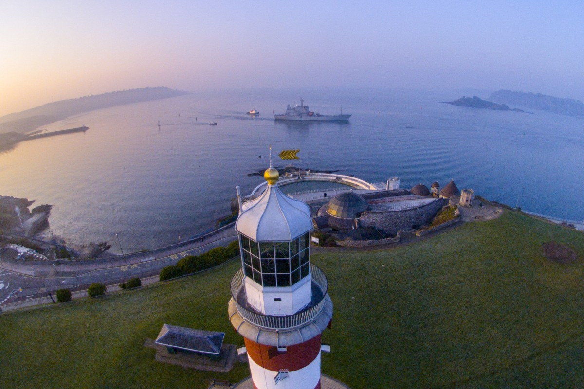 The Hoe. Plymouth. England | Dronestagram