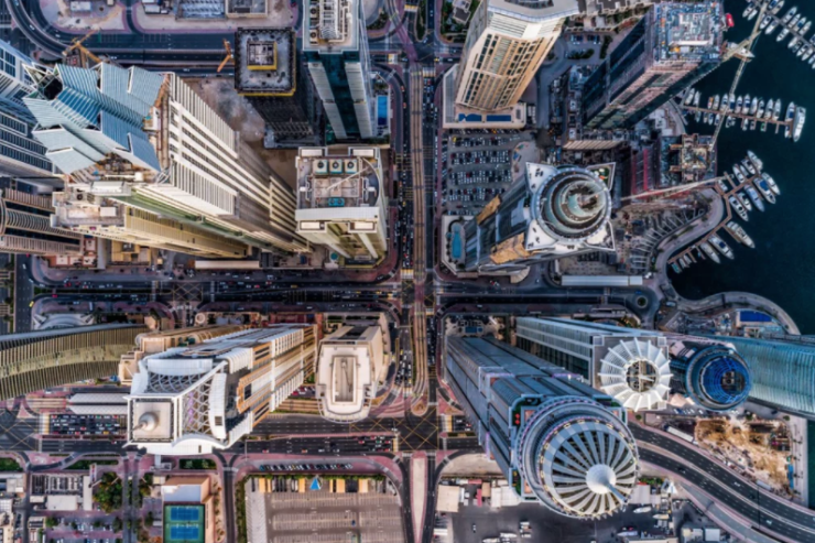 Concrete Jungle Dronestagram