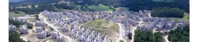 drone footage in turkey castles