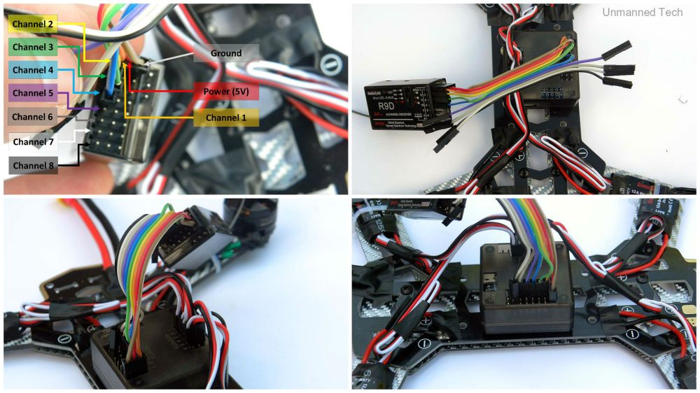 medium resolution of  harness quadcopter power distribution click to enlarge receiver to flight controller jpg1920x1080 372 kb