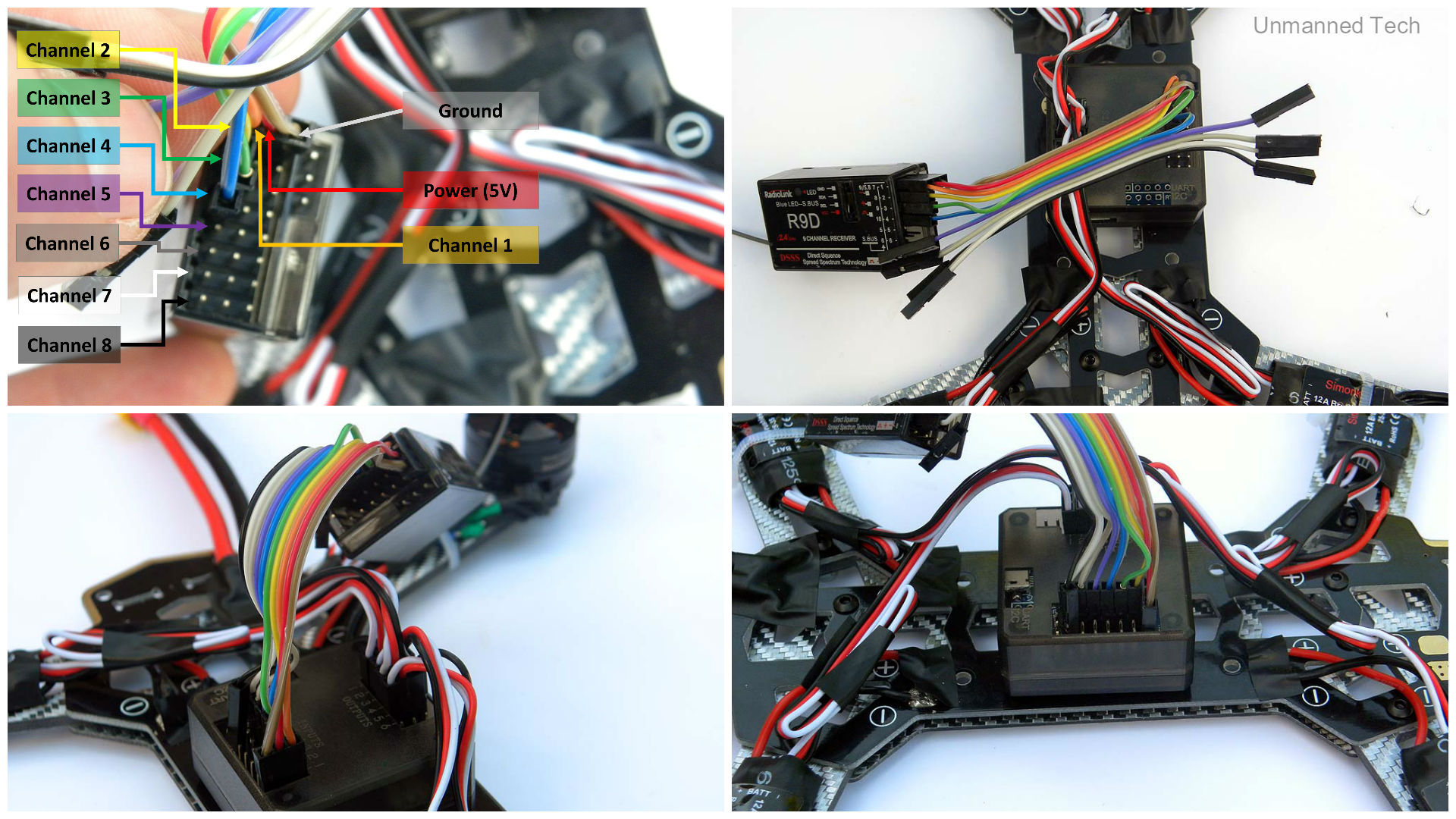 hight resolution of  harness quadcopter power distribution click to enlarge receiver to flight controller jpg1920x1080 372 kb