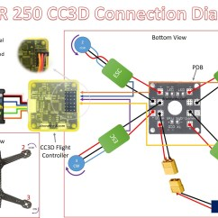 Fpv Racing Drone Wiring Diagram 2001 Ford F350 Mirror Cc3d Quadcopter Not Lossing