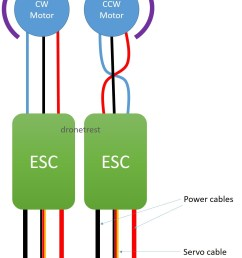 esc to motor connection guide how to reverse your motor direction ovp wiring diagram drone esc wiring diagram [ 1145 x 1587 Pixel ]