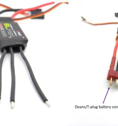 what to consider when buying a esc for your multirotor guides 6 ch rc plane wiring diagram quadcopter esc wiring [ 2834 x 1125 Pixel ]