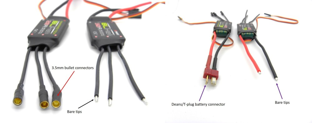 medium resolution of what to consider when buying a esc for your multirotor guides 6 ch rc plane wiring diagram quadcopter esc wiring