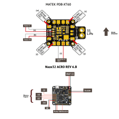 Fpv Transmitter Wiring Diagram Briggs And Stratton Ybsxs 7242vf How To Connect Foxeer Aomway Gear Help Dronetrest