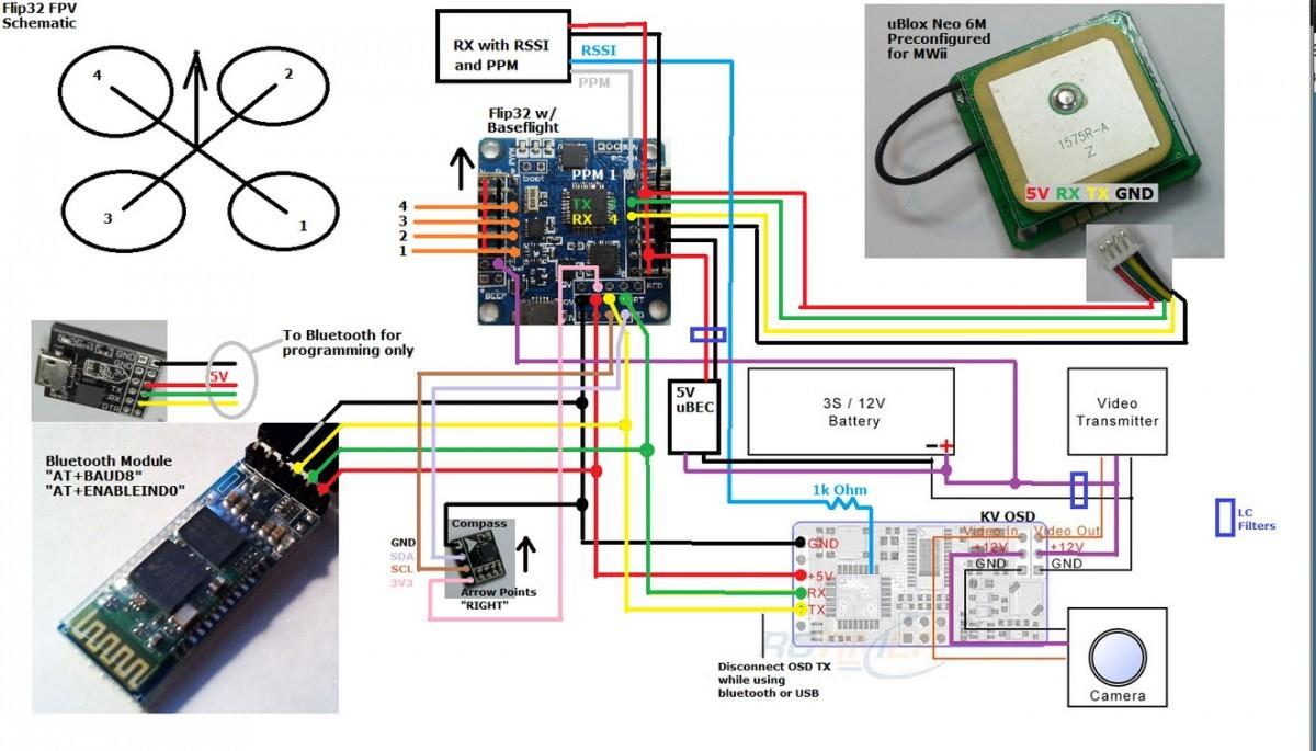 hight resolution of fpv quadcopter naze32 wiring diagram images gallery flip 32 naze 32 flight controller guide guides dronetrest rh dronetrest com naze32 rev 6